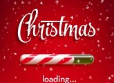 christmas is loading